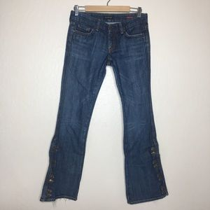COH by Jerome Dahan USA made boot cut jeans